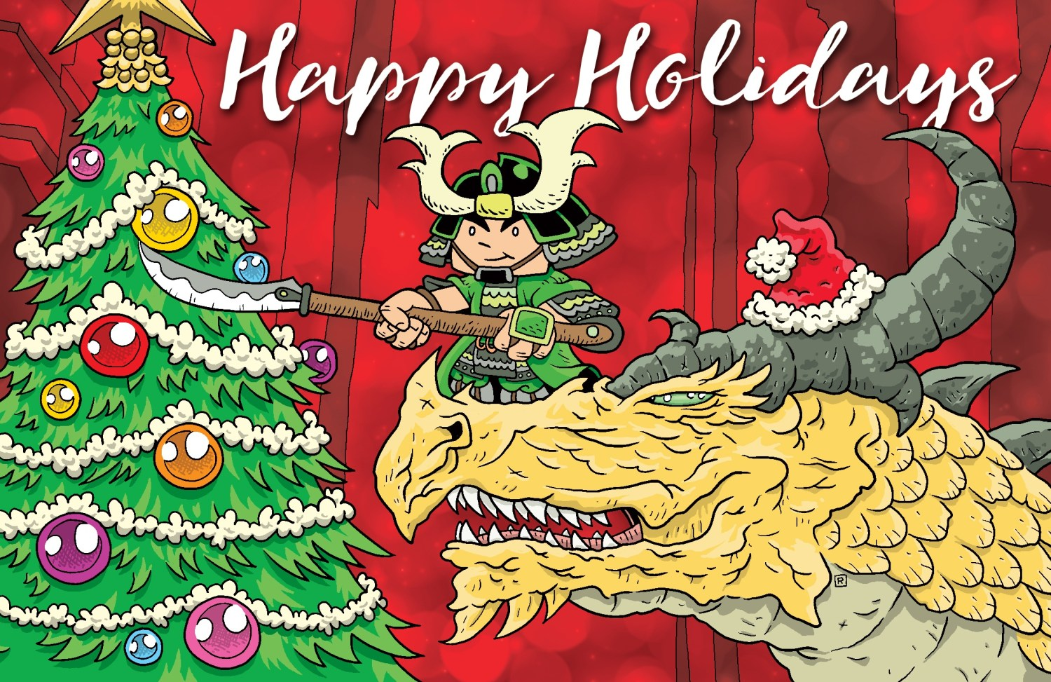 Happy Holidays From Green Ronin!