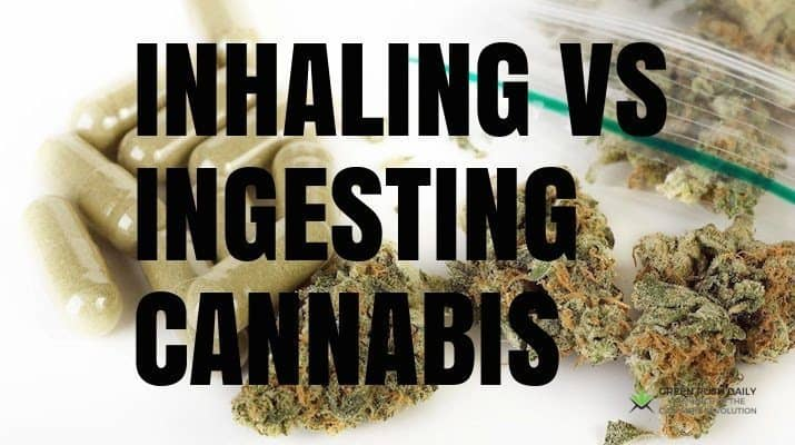 Image result for vaporizing compared to ingesting cannabis
