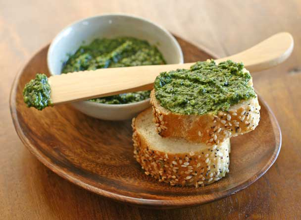 Pistachio Arugula Pesto Recipe