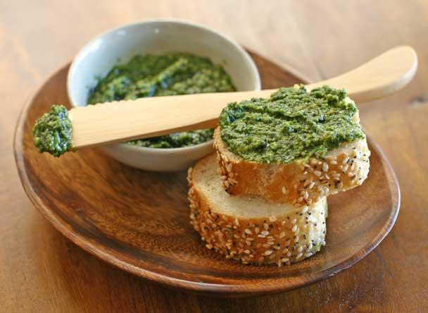 Pistachio Arugula Pesto Recipe