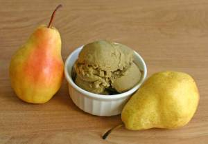 Vegan Green Tea Lime Pear Sorbet Recipe