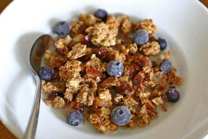 Yummy Vegan Granola Recipe