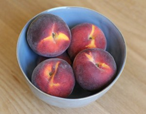 Fresh, Ripe Summer Peaches