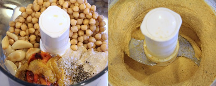 How to Make Hummus in a Food Processor
