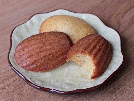 Vegan Madeleine Cookies