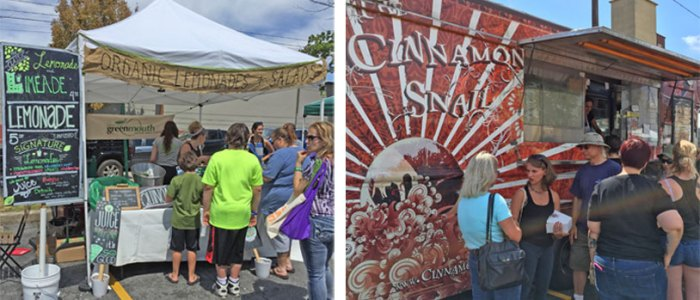 Bethlehem VegFest 2015 - Cinnamon Snail Food Truck and Greenmouth Juice Bar