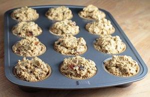 Vegan Punkin Muffins Before Baking