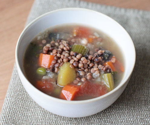 Winter Minestrone (vegan)