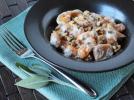 vegan gluten free sweet potato gnocchi