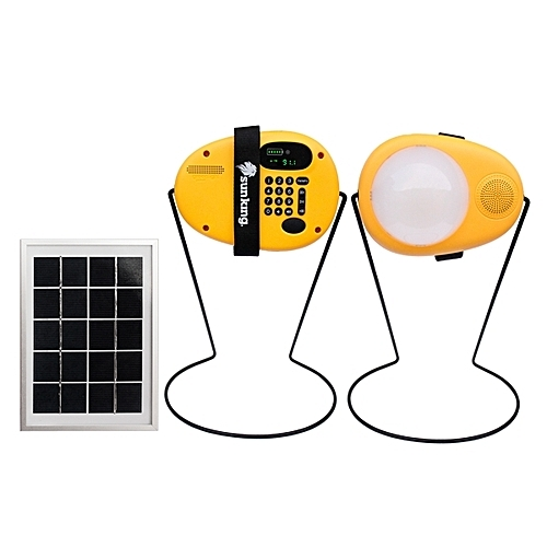 The Sun King Boom provides power for your devices and light for your home or your business