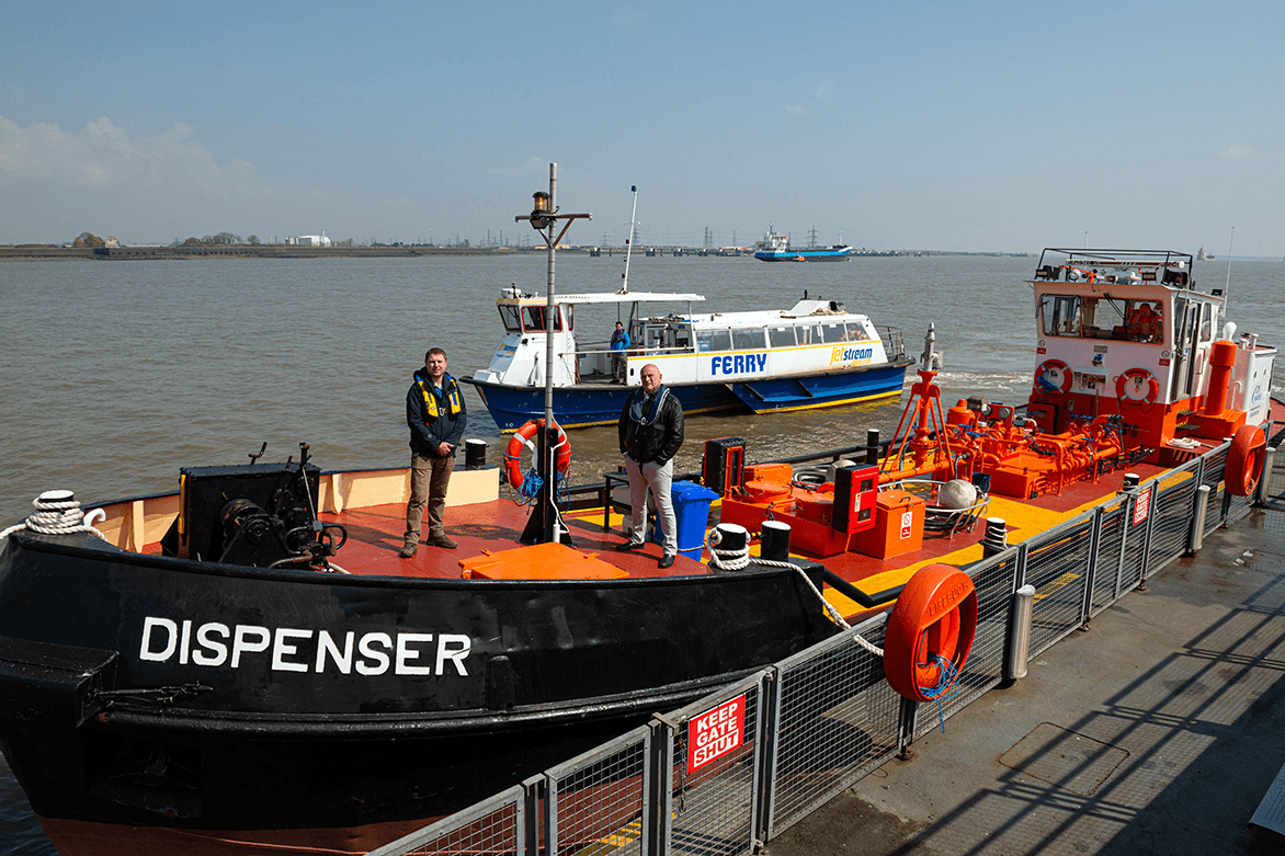 Green recognition for Thames operators