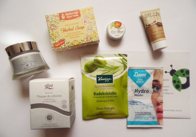 Biobox Beauty Care Oktober 2014 Inhalt