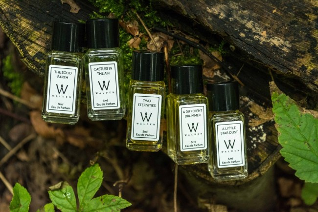 Walden Natural Perfumes Gift Set Samples Naturparfum