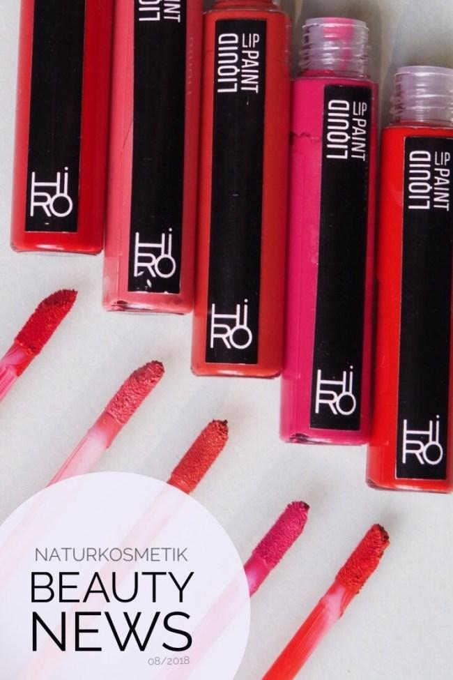 Hiro Liquid Lipstick I Naturkosmetik beauty news vegan Makeup