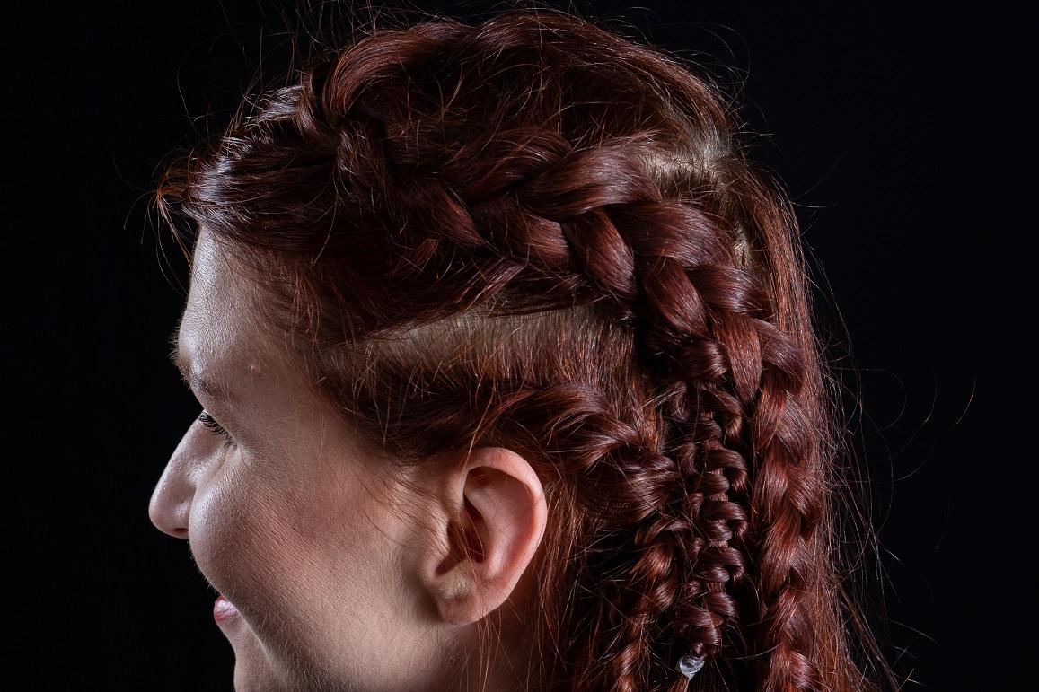 Vikings Hairstyle Lagertha Halfup