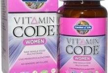 3 4 - فيتامين كود للنساء