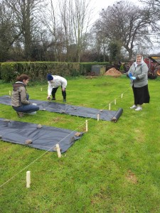 Leighlin Parish Community Garden - 16th March