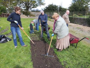 Leighlin Parish Community Garden - 20th April 2012
