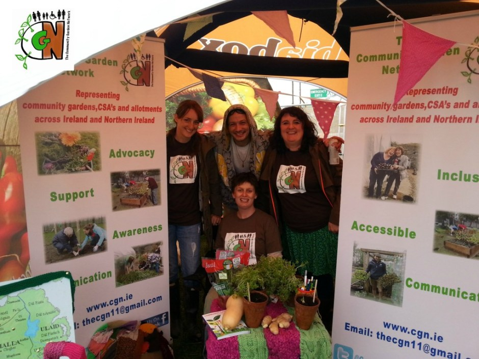 Community Garden Network at the Electric Picnic