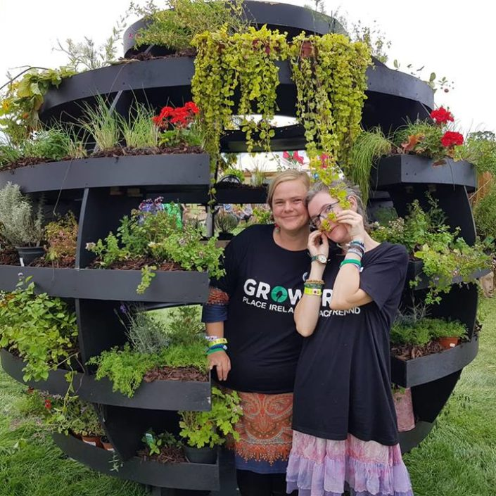 Community Garden in Global Green at Electric Picnic
