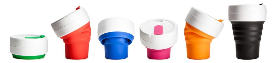 Introducing the Stojo Collapsible Cup