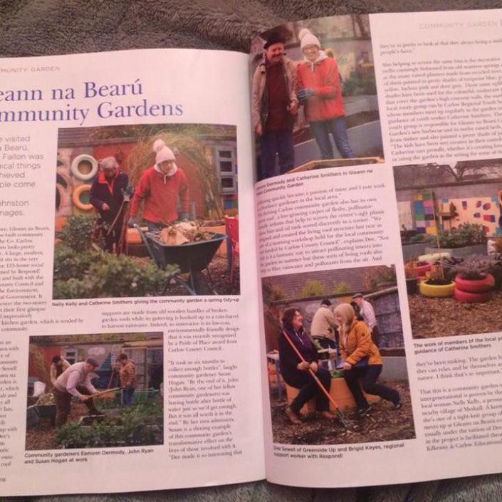 Gleann na Bearu Community Garden