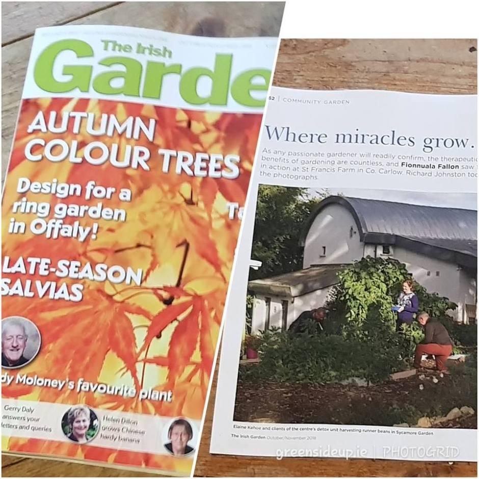 St Francis Farm Featured in Irish Garden Magazine 2018