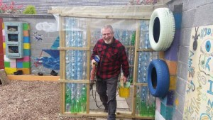 How to Build a Plastic Bottle Greenhouse