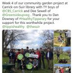 Carrick on Suir Library Community Fruit Garden