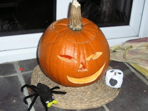 Why do we carve pumpkins at Halloween