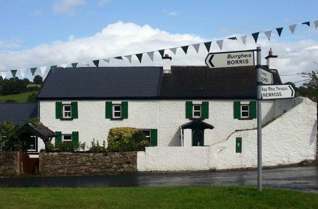 A house in the village of St Mullins