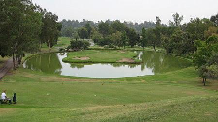 Vista Valencia Golf Course Valencia California Hole 17 Island Green