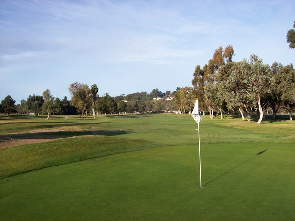 Chula Vista Golf Club Bonita California Hole 7