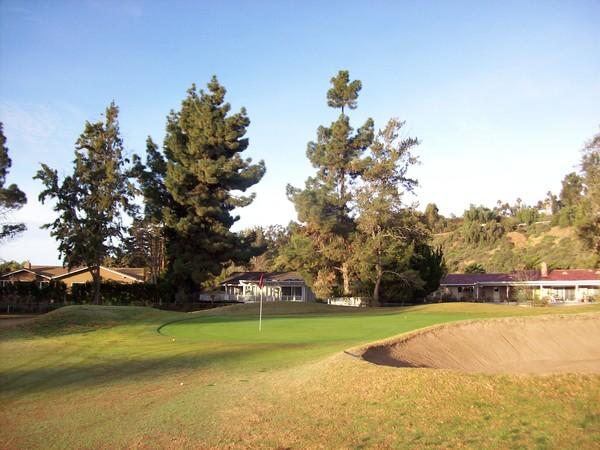 Chula Vista Golf Club Bonita California Hole 6