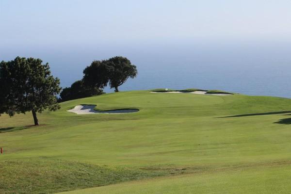 Los Verdes Golf Club Rancho Palos Verdes California Hole 13 Approach