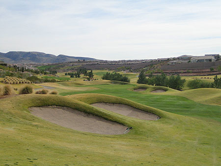 Anthem Revere Golf Club CONCORD Henderson Nevada Hole 6