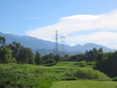 Oak Valley Golf Club Beaumont California Hole 4