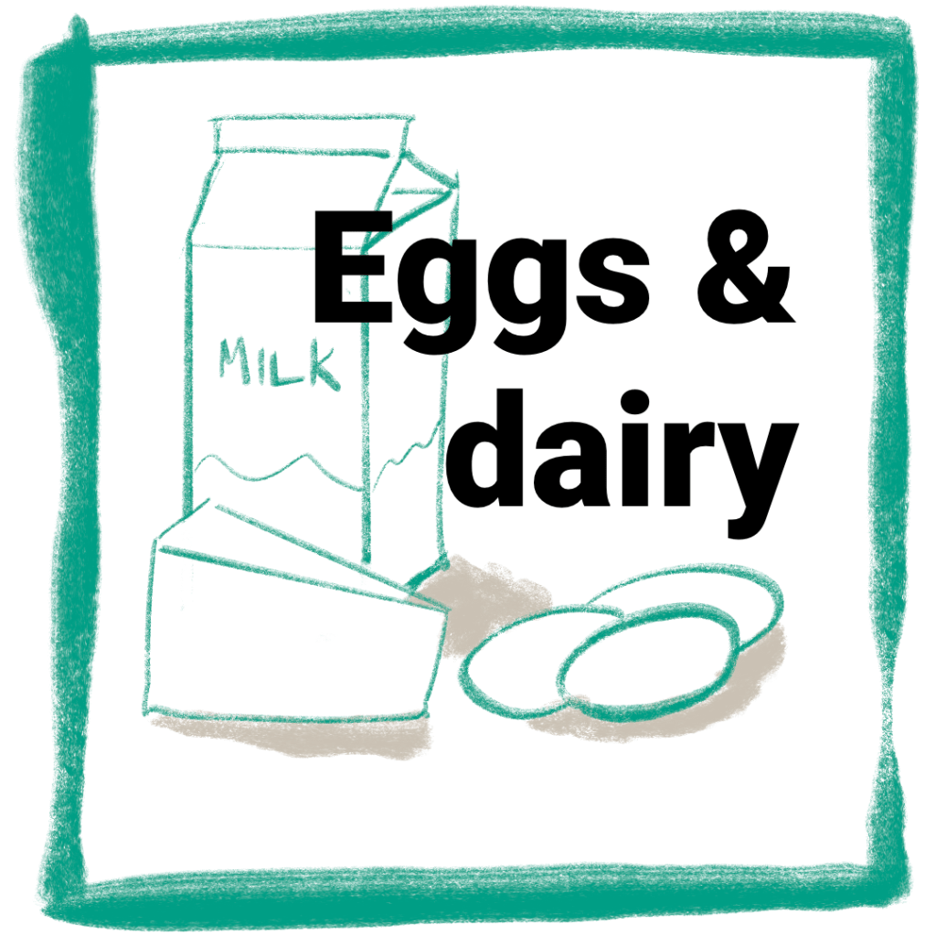 Greenslate Online shop Eggs and dairy image