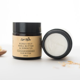 hair butter with kukui nut