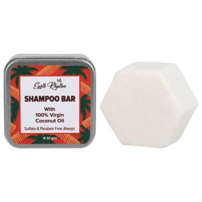 virgin coconut shampoo bar