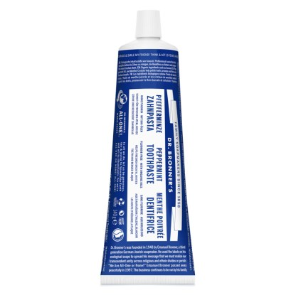 dr bronners organic toothpaste