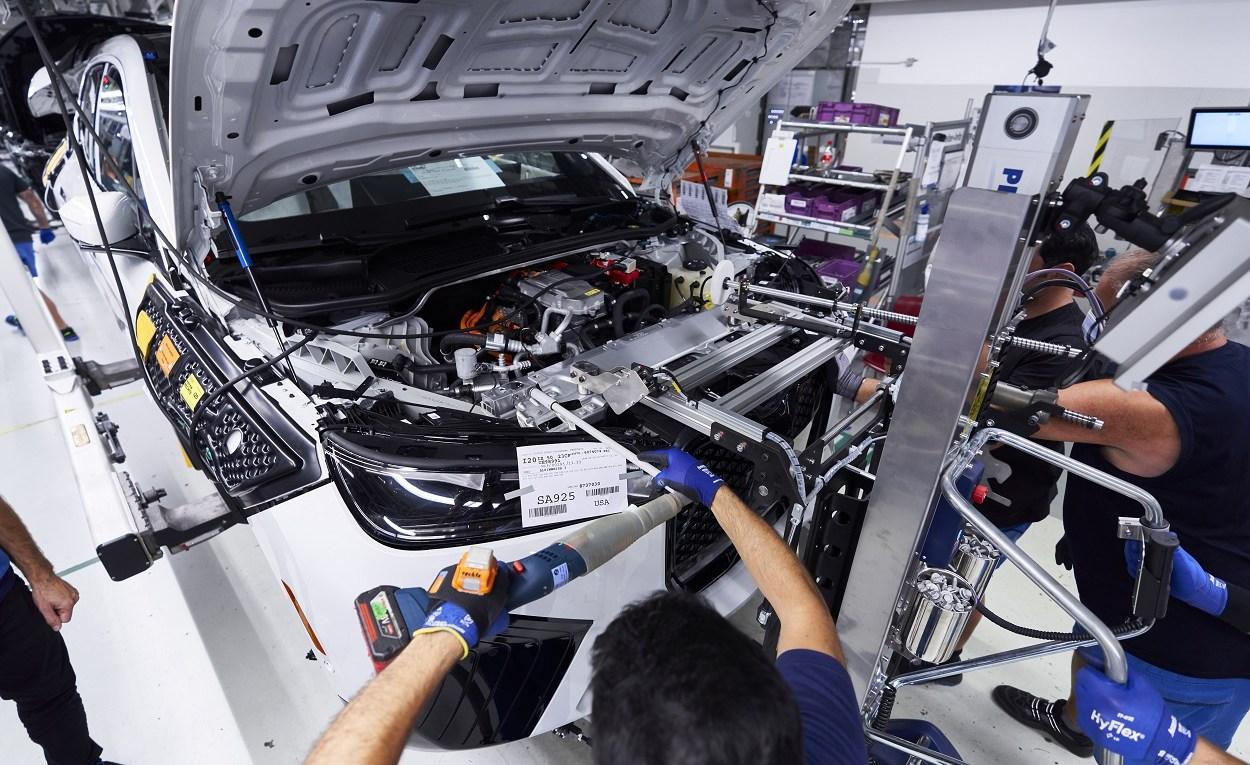 Montage des vollelektrischen BMW iX in Dingolfing
