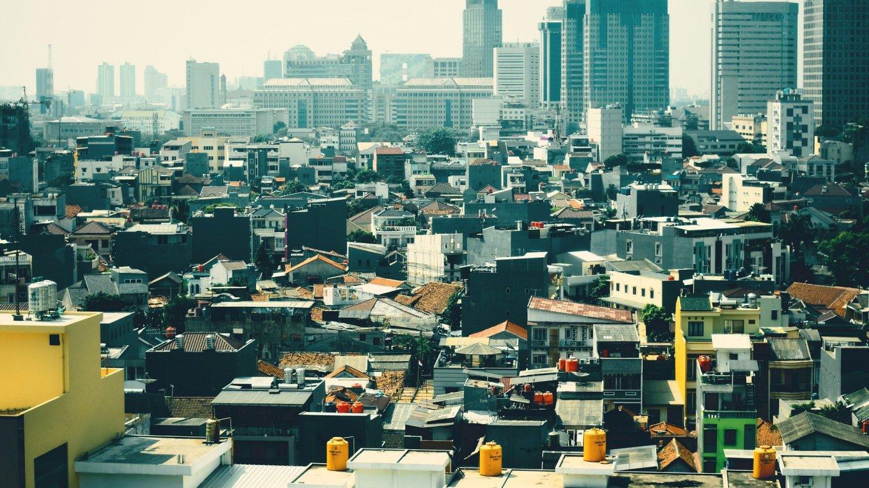 Indonesische Hauptstadt Jakarta