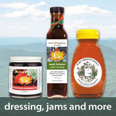 Dressing, Jams and More