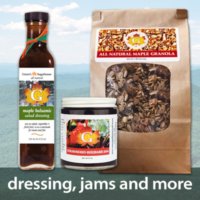 Salad Dressing, Granola and Jams