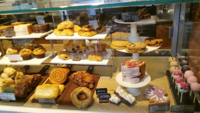 Starbucks - pastry case