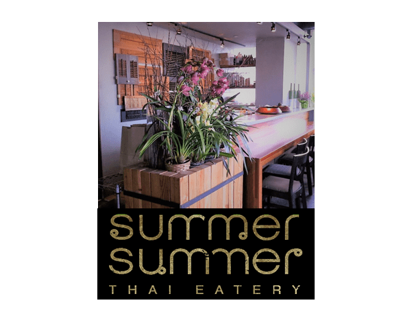 Image and logo for Summer Summer, Thai restaurant in Emeryville, CA