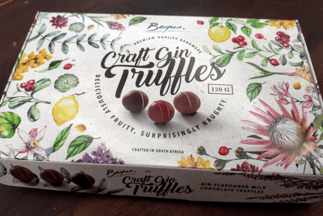 Box of Beyers Craft Gin Truffles