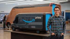 В Rivian работа по созданию электрического фургона для Amazon в самом разгаре.