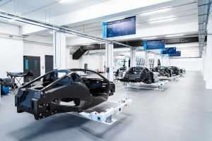 Rimac построил новую производственную линию для сборки электрических суперкаров C_Two